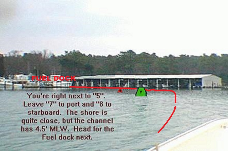 how to get into smith point marina
